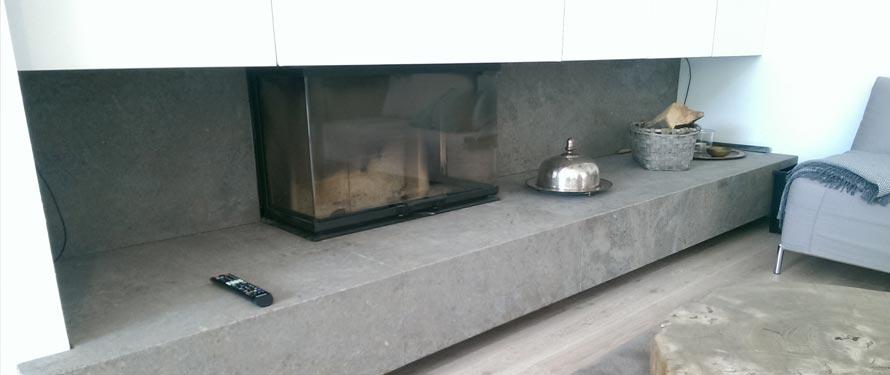 kaminverkleidung aus naturstein moderne w rmespeicherung. Black Bedroom Furniture Sets. Home Design Ideas