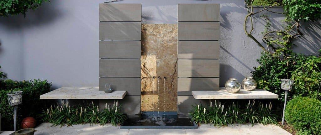 Gestaltungselemente aus naturstein f r den garten traco manufactur - Natursteine fur den garten ...