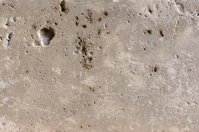 Augustus Dolomit gewalzt