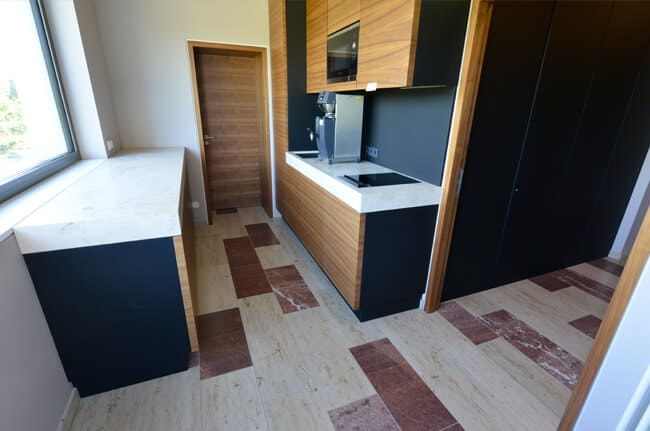 Küchengestaltung mit Naturstein