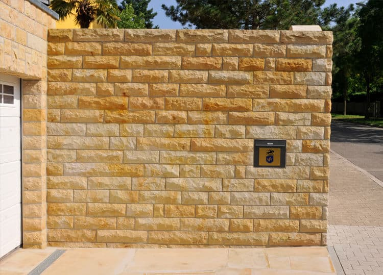 Mauersteine-Blendbossen-Luxor