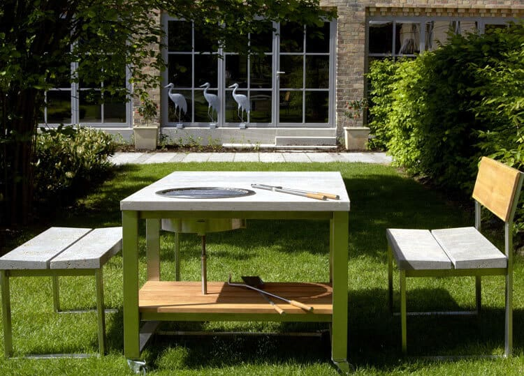 Muschelkalk-Grillwagen-Tisch-Bank-rechteckig-1