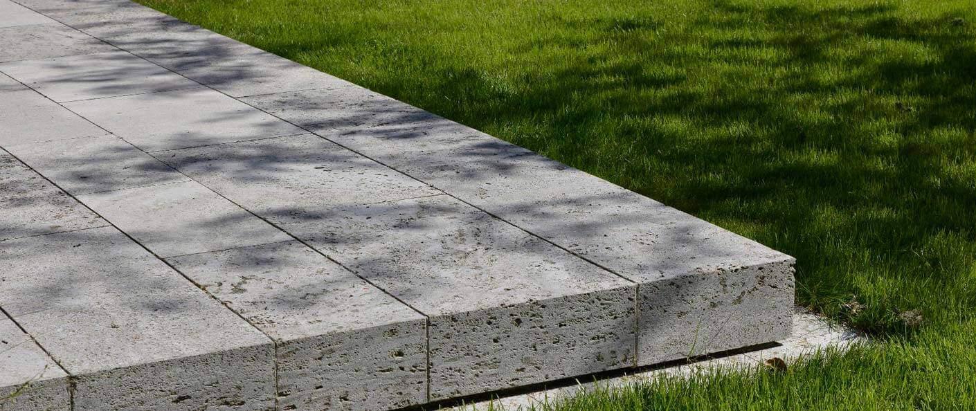 kalksteinplatten garten direkt vom hersteller kaufen ab 54 95 m. Black Bedroom Furniture Sets. Home Design Ideas
