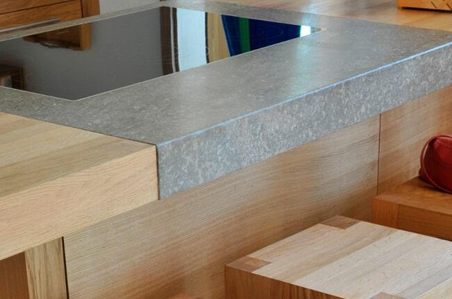 Natursteinplatte Küche