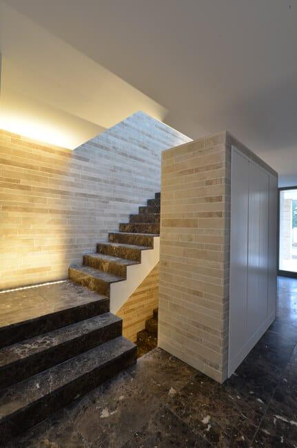 Treppen Und Wandgestaltung Aus Naturstein