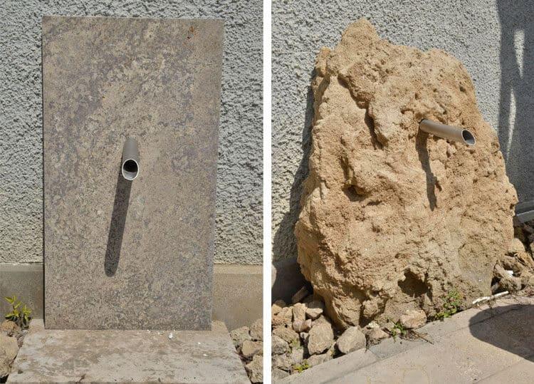 Steinbrunnen gestaltungselemente f r den garten aus naturstein - Natursteine fur den garten ...
