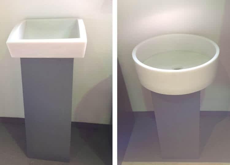 Waschbecken-Granit-poliert