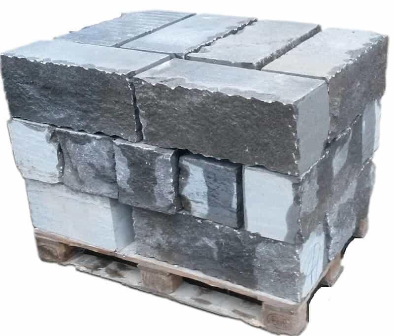 Mauersteine Muschelkalk Palette (Castell)