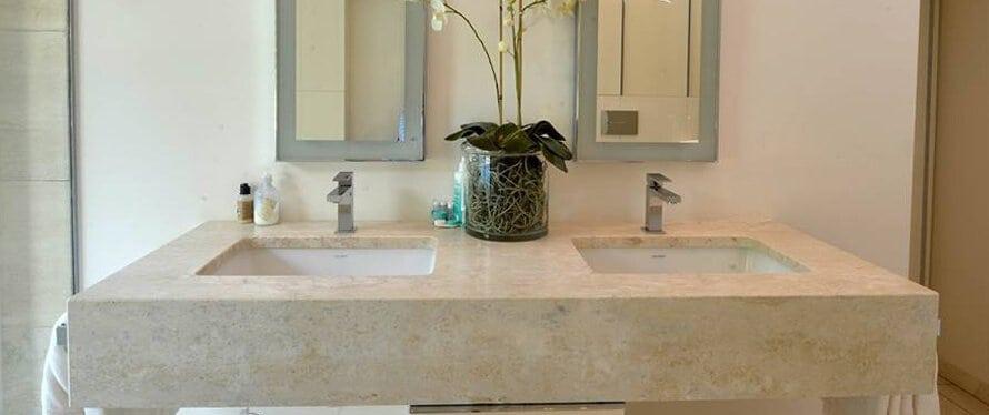 Naturstein Waschtische - Waschtischplatten, Aufsatzwaschtische & mehr