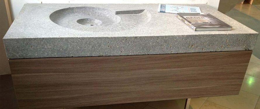naturstein waschbecken sp lbecken arten formen pflegetipps. Black Bedroom Furniture Sets. Home Design Ideas