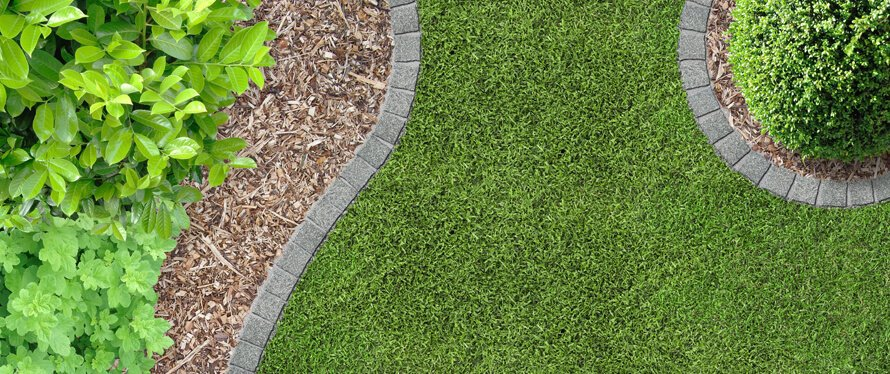 Gartengestaltung-runde-Beete