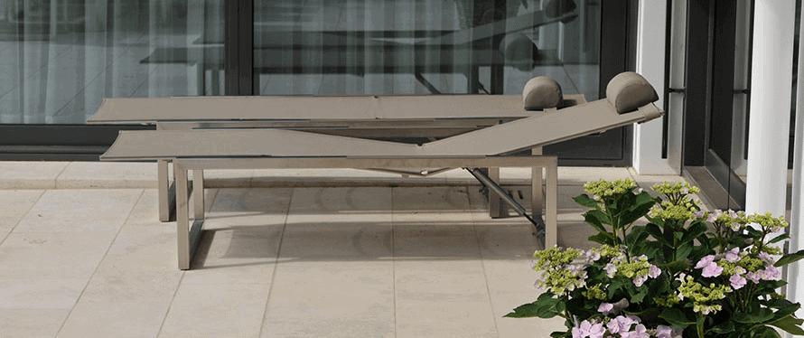 Natursteinboden für den Innen- und Außenbereich