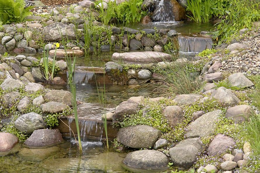 Bachlauf im Garten anlegen / selber bauen | Anleitung mit Teich & Co.