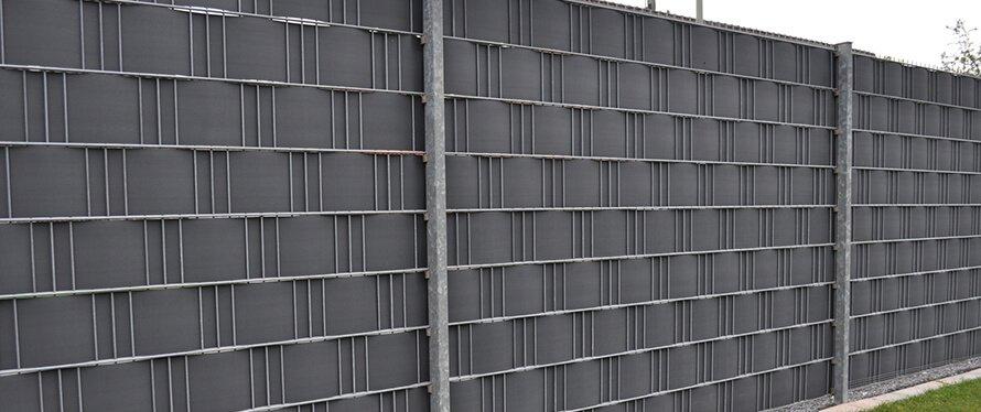 Sichtschutz aus Kunststoff