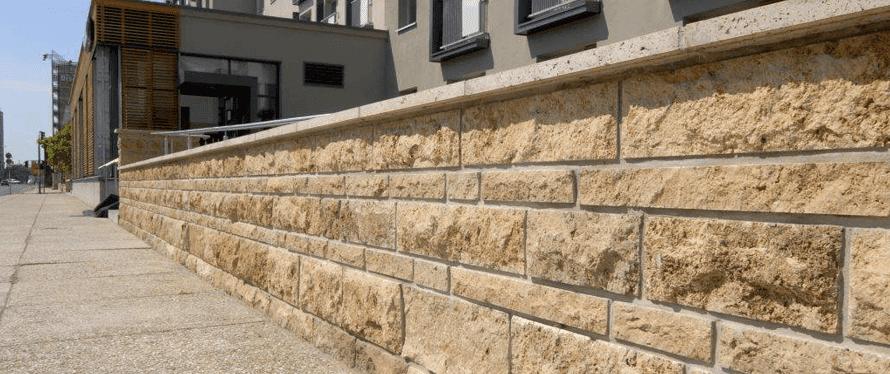 Mauersteine Arten