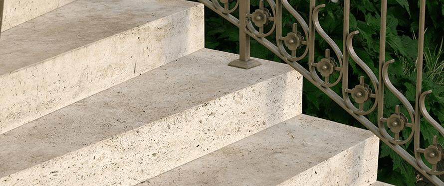 Steintreppe bauen