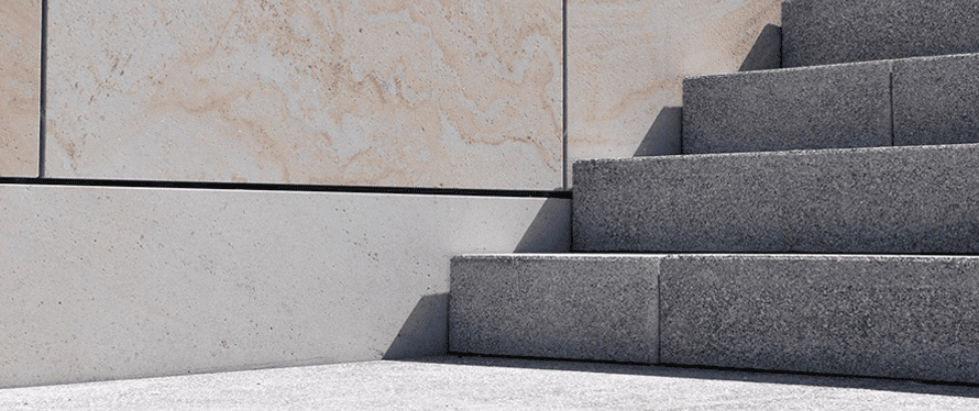 Steintreppe selber bauen