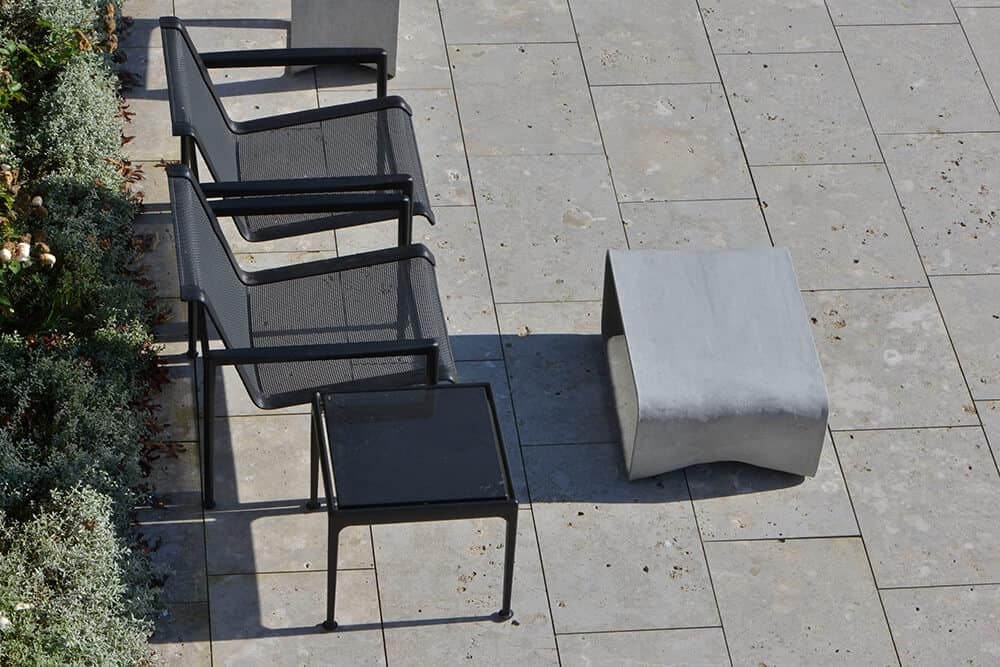 Bodenplatten Dolomit im modernen Stil