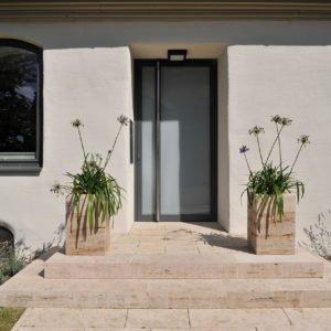 Gartenplatte Travertin Troja (Bahnen)
